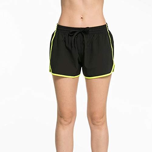 レディースジャージ上下セット 女性スポーツ用ヨガ速乾性フィットネスボトムスショーツ (色 : 緑, サイズ : XL)