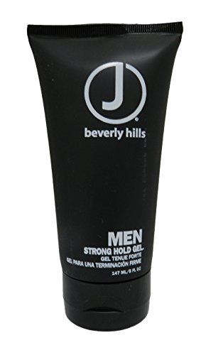 J Beverly Hills Men Strong Hold Gel 5 oz - Maximum Hold Styling Gel