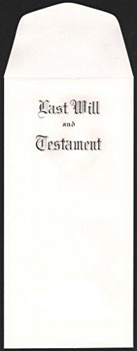 Testament Envelopes - Will Envelopes #2381