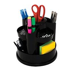 Wonderful Innovative Storage Designs Desktop Organizer, 10 Compartments, Black