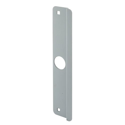 Latch Shield - Defender Security U 9507 Latch Guard Outswing, 2-5/8-Inch by 12-Inch, Gray Steel