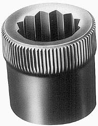 1-14'' Thread Uncoated Steel Allen Nut pack of 10 by Holo-Krome