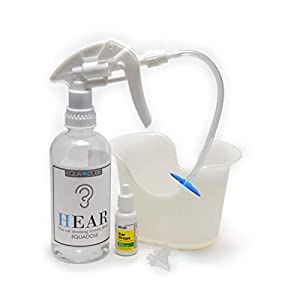 Hear Earwax Remover Kit, Includes: Ear Drops to Soften Ear Wax, Wash Basin, 3 Soft Disposable Tips, Irrigation System to Clean Outer Ear