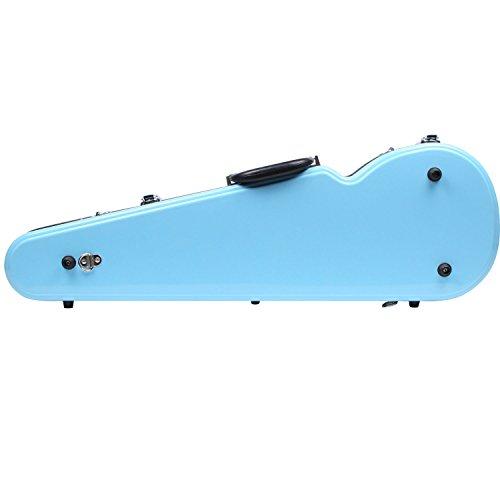 Fiberglass Violin Case Full Size (Sky Blue) by STRING HOUSE (Image #2)