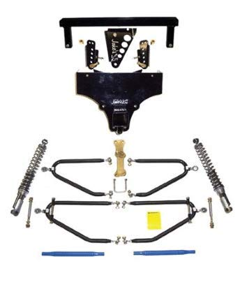 JAKE'S LIFT KITS Yamaha G8, G14, G16, G19, G21 Golf Cart Long Travel Kit with Independent Front Suspension