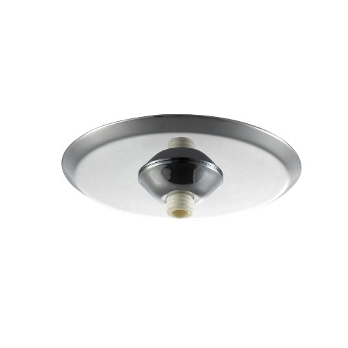 WAC Lighting QMP-MI-TR-CH Surface Mount Canopy Metal for Quick Connect Pendants/Fixtures