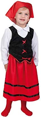 LLOPIS - Disfraz Bebe pastora t-XS