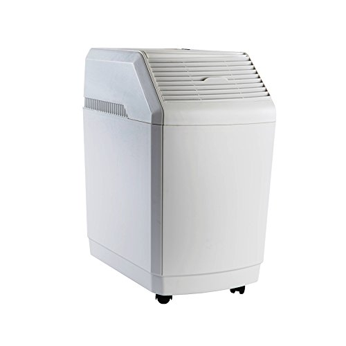 AIRCARE 831000 Space-Saver, White Whole House Evaporative Humidifier 2700 sq. ft (Best Whole Room Humidifier)