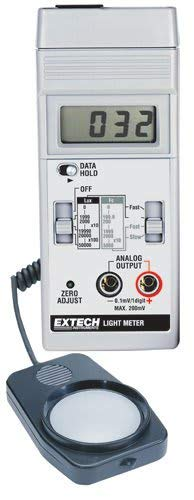Extech 401025-NIST Foot Candle/Lux Light Meter with NIST