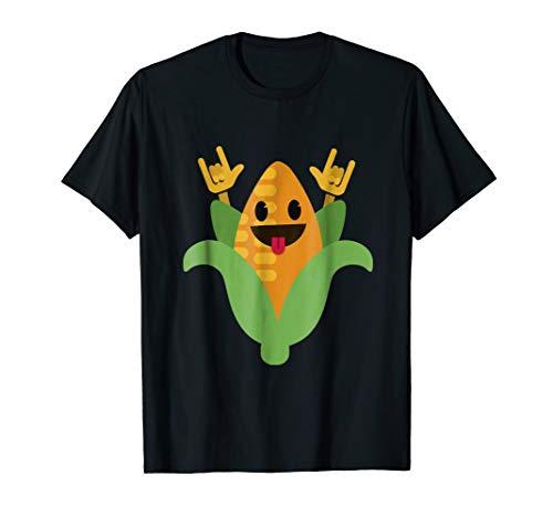 Dancing Corn T-Shirt Funny Dance Fruit Dancer Graphic Tee ()