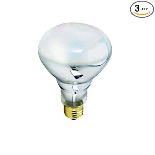 Philips 454827 Halogen 50W Halogen BR30 Flood Light Bulb with Dimmable (3Pack) - - Amazon.com