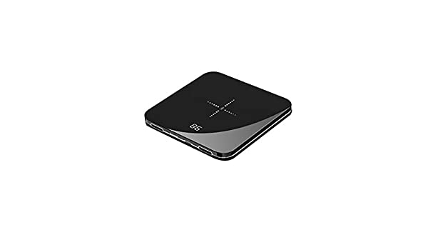 UMEI 8000 mAh Power Bank Portable Charger Wireless Mini Mobile Battery External Battery Pack for iPhone X/8/8Plus: Amazon.es: Hogar
