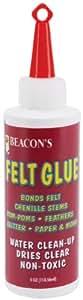 Beacon Adhesives FG4OZBOT12 Felt Glue, 4-Ounce