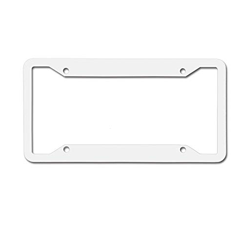 MichelleSmithred Mistletoe Holly Berry Curlicue Design Monochrome Noel Print License Plate Frame Aluminum Car tag Cover 4 Holes and Screws for US and - Berry Holly Designs
