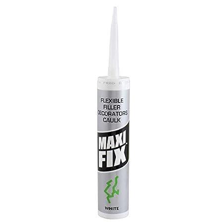 Maxifix Painters And Decorators Caulk 1 Tube S Amazon Co Uk Diy