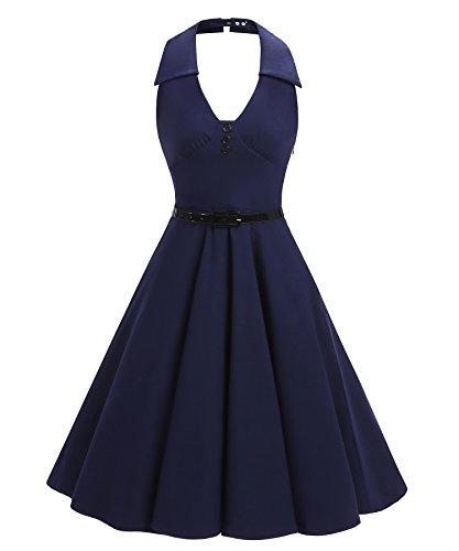 1950 halter neck dress patterns - 8