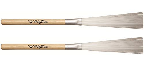 Vater PFLX 5A Poly Flex Drum Brushes, Pair