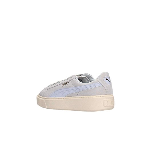 Sneaker Bianco Blu Platform PUMA Donna Bianco Scamosciato OSXZZUxq