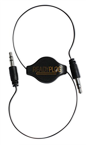 ReadyPlug Retractable 3.5mm Audio Cable for: Memorex AM/FM