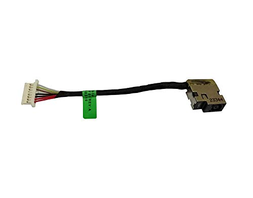 DC Power Jack Cable Replacement for HP Pavilion 799735-F51 799735-S51 799735-T51 799735-Y51 807522-001 ()