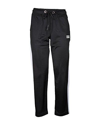 KITH Pantalone Donna K148 Acetato con Bande Laterali