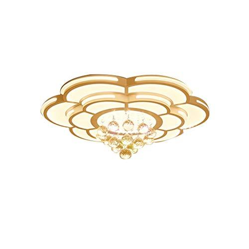 - Der Ceiling Lighting Crystal Light Simple Modern Atmosphere Round Candle Light LED Ceiling Light Chandelier (Size : 60CM)