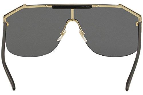 80f3aa5e60a Gucci gg0291s 100% Authentic Men s Sunglasses Gold 001