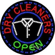 Dry Cleaners - Ultra Bright LED Sign - 26'' x 26''