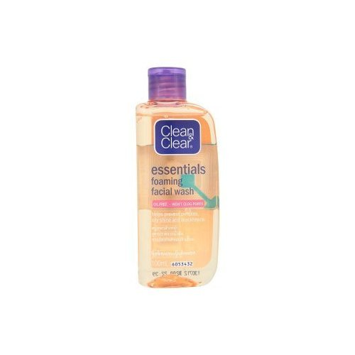 Clean & Clear Essentials Foaming Facial Wash 100ml Product of Thailand [( Hot Items )] by molona