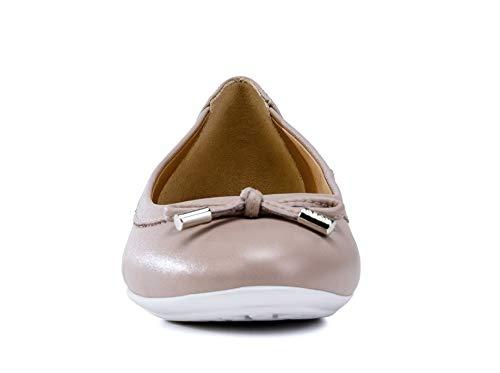 elegante Ballerine Donna nodo Classiche Antique ballerine Estive scarpe Geox signora ballerina Ballerine Charlene D84y7a Libero Rose tempo E7xwq0P