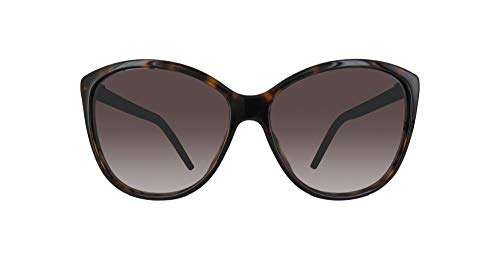 Marc Jacobs Women's Marc69s Cateye Sunglasses, Dark Havana/Brown Gradient, 58 -