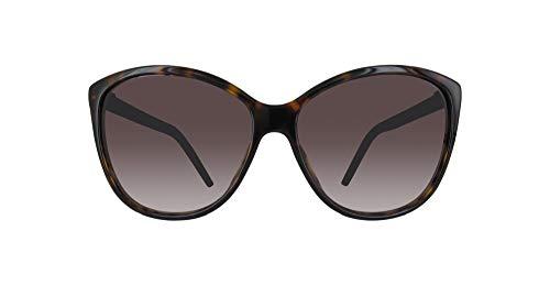 Marc Jacobs Women's Marc69s Cateye Sunglasses, Dark Havana/Brown Gradient, 58 mm