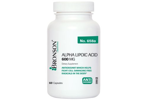 Bronson Alpha Lipoic Acid Capsules product image