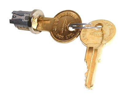 Timberline Lock Plug Nickel Keyed Alike key number 103