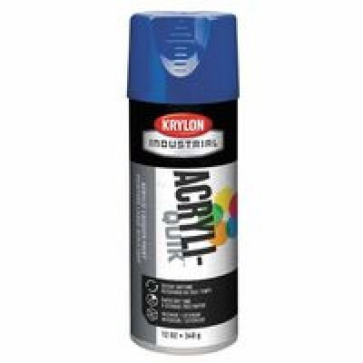 (Krylon Industrial 5-Ball 00661 Navy Blue Gloss Acrylic Enamel Paint - 16 oz Aerosol Can - K01907 [PRICE is per CAN])