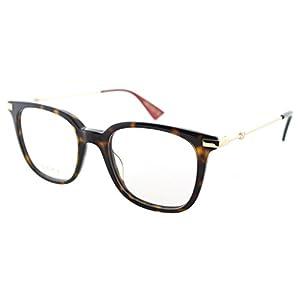 Eyeglasses Gucci GG 0110 O- 002 002 AVANA / GOLD