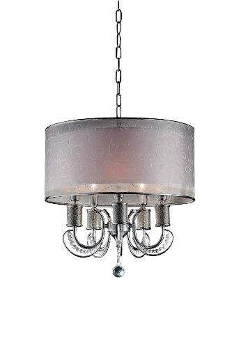 (OK-5132H 21-Inch H Newport Crystal Ceiling Lamp)
