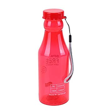 Sports Water Bottle - 550ml Sports Water Pot Bottle Container Leak Proof Climbing Camping Botellas De Plastico - Lids Non Brush Landnics Replacement ...