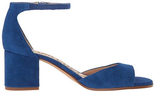 Sam Edelman Sandalias de la mujer Susie vestido Nautical Blu Le Suede