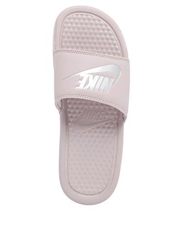 Basse Donna Benassi Silver 001 Particle Scarpe JDI Ginnastica Rose Nike da Wmns Metallic Multicolore w6S0xqSY