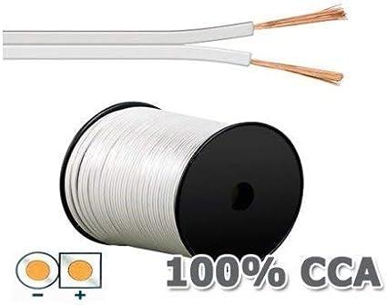 Cavo dellaltoparlante MANAX/® 2 x 0,75 mm/² transparente 100 m bobina