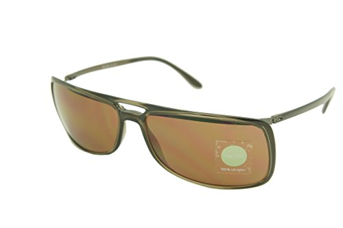 6131 Crystal (Silhouette Sunglasses Titan Design limited edition (4055-6131 crystal brown frame / golf brown lens 65mm-18mm-133, one size))
