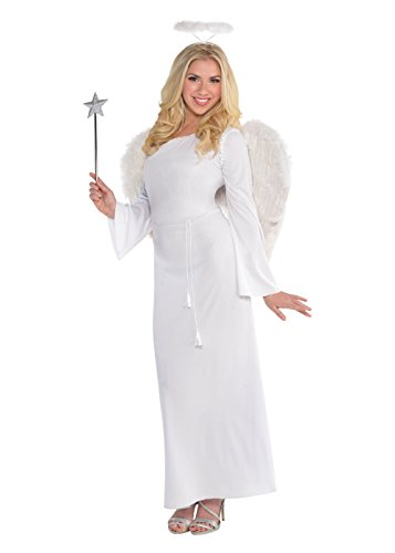 [Heaven Sent Angel Costume - Standard - Dress Size 6-8] (Angel Fancy Dress)