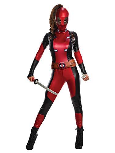 Secret Wishes Marvel Deadpool Women's Costume, As Shown, ()