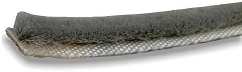 Bulk Hardware bh04943autoadhesivo. Resistente al agua Weather strip, 5mm x 5m), color gris