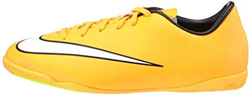 Nike Mercurial Victory V IC Kinder Hallen Fussballschuhe laser orange-white-black-volt - 33