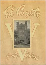 Custom Reprint Yearbook 1943 Roswell High School Coyote Yearbook