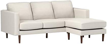 Amazon Brand Rivet Revolve Modern Upholstered Sofa