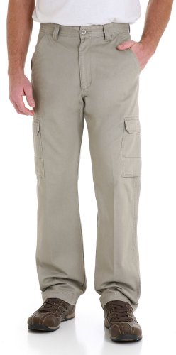 Genuine Wrangler (Wrangler Genuine Mens Cargo Pants 36W x 32L Burlap beige)