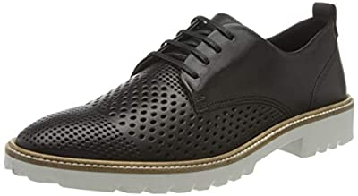 ECCO Women's Incise Tailored Perforated Tie Oxford